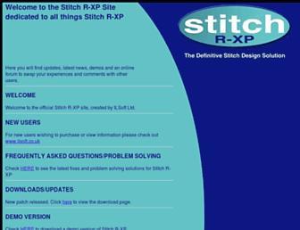 stitchrxp.com screenshot