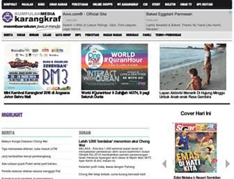 karangkraf.com screenshot