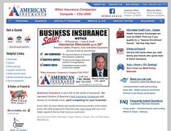 americaninsuranceid.com screenshot