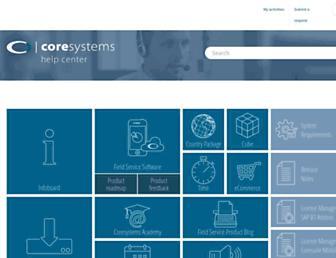 helpdesk.coresystems.ch screenshot