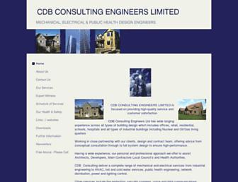 cdbconsulting.co.uk screenshot