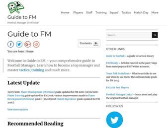 guidetofm.com screenshot