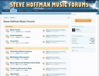 forums.stevehoffman.tv screenshot