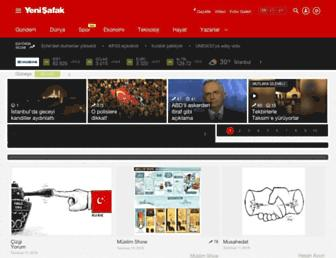 yenisafak.com screenshot