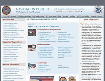 navcen.uscg.gov screenshot