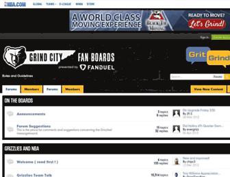boards.grizzliesonline.com screenshot