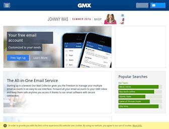 Thumbshot of Gmx.co.uk