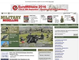 militarymodelling.com screenshot