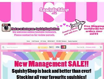 squishyshop.com screenshot