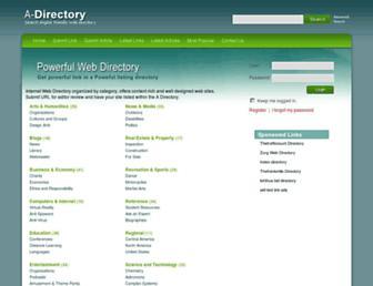 a-directory.net screenshot