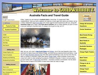 Thumbshot of Gondwananet.com