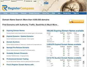 Thumbshot of Registercompass.com