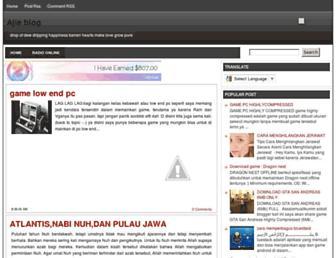 ajhideheavenz.blogspot.com screenshot