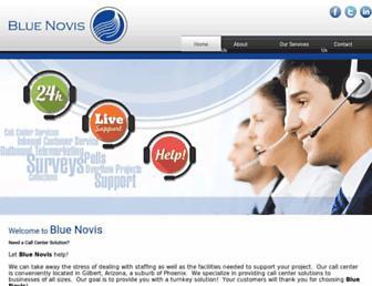 bluenovis.com screenshot