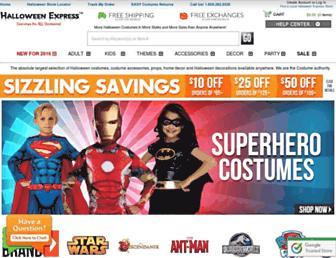 Thumbshot of Halloweenexpress.com