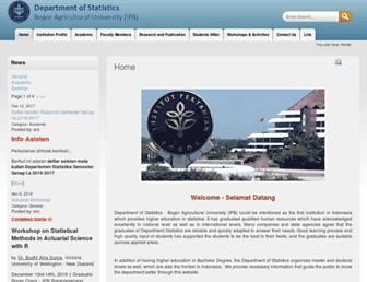 stat.ipb.ac.id screenshot