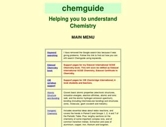 Thumbshot of Chemguide.co.uk