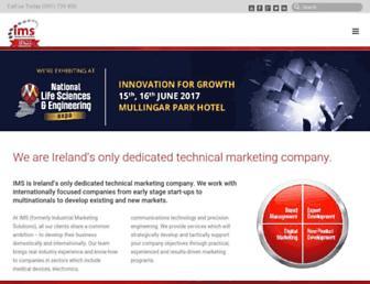 imsmarketing.ie screenshot