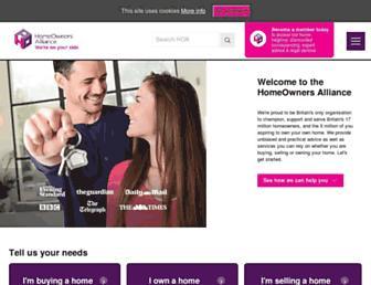 hoa.org.uk screenshot