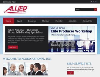 alliednational.com screenshot
