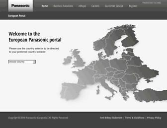 Thumbshot of Panasonic.eu