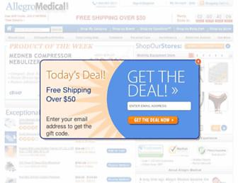 Thumbshot of Allegromedical.com