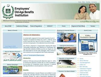 Thumbshot of Eobi.gov.pk