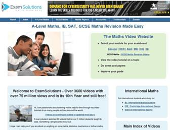 Thumbshot of Examsolutions.net