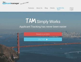 Thumbshot of Theapplicantmanager.com