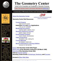 geom.uiuc.edu screenshot