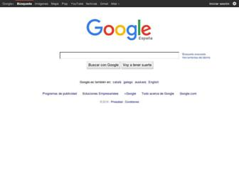 Thumbshot of Google.es