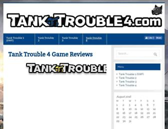 tanktrouble4.com screenshot