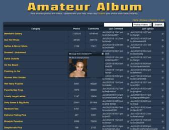 Thumbshot of Amateuralbum.net