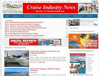 Thumbshot of Cruiseindustrynews.com