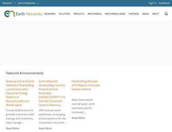 Thumbshot of Earthnetworks.com