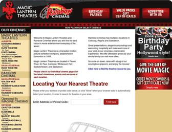 rainbowcinemas.ca screenshot