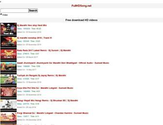 fullhdsong.net screenshot