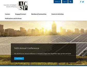 acsp.org screenshot