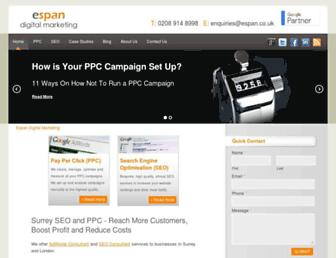 Thumbshot of Espan.co.uk