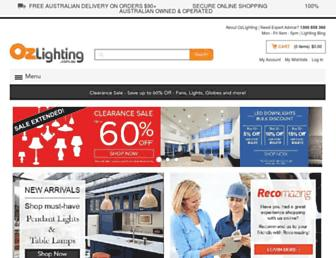 Thumbshot of Ozlighting.com.au