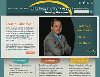 drivenforward.com screenshot