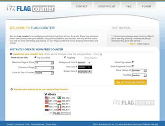 Thumbshot of Flagcounter.com