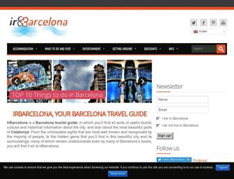 irbarcelona.org screenshot