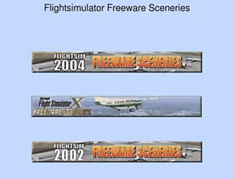 freewarescenery.com screenshot
