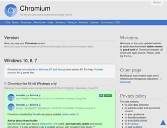chromium.woolyss.com screenshot