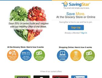 Thumbshot of Savingstar.com