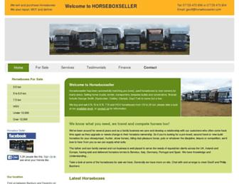 horseboxseller.com screenshot