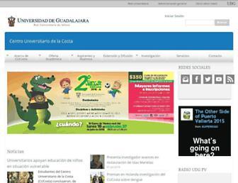 cuc.udg.mx screenshot