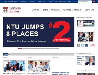 Thumbshot of Ntu.edu.sg