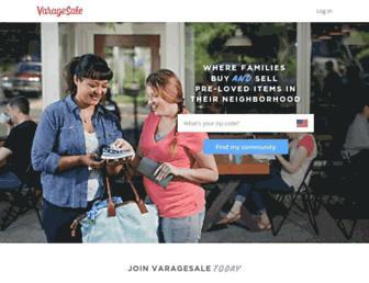 varagesale.com screenshot